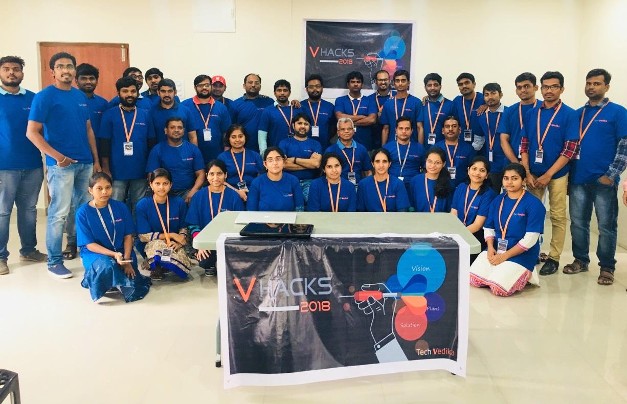 VHacks 2018: Hackathon at Tech Vedika