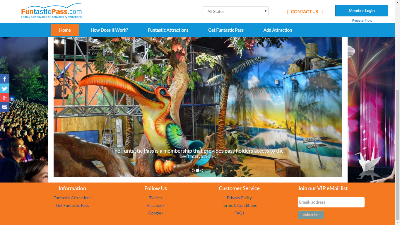 A Cloud Portal for Amusement Park Membership Portal..