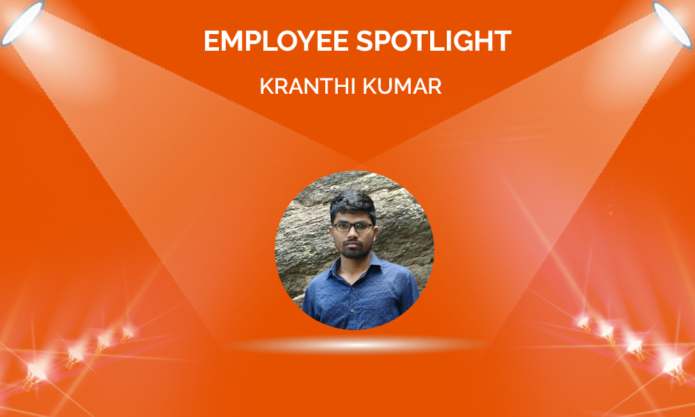 Employee Spotlight: Kranthi Kumar Sagarla