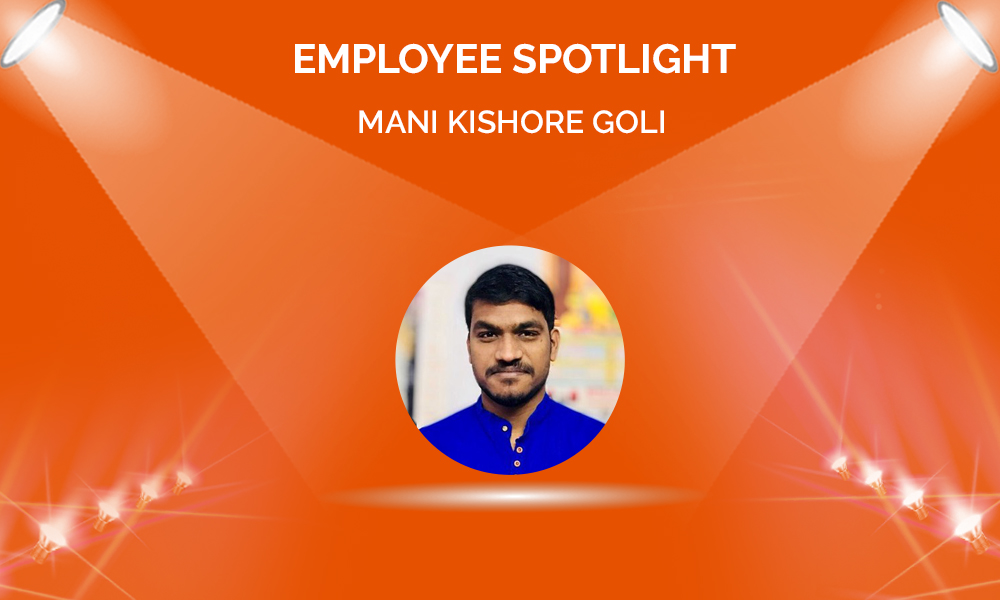 Employee Spotlight: Mani Kishore Goli