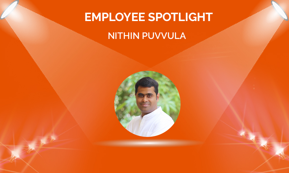Employee Spotlight: Nithin Puvvula