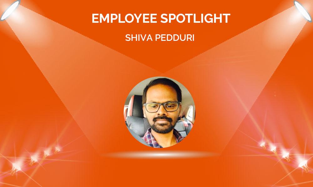 Employee Spotlight: Shiva Vara Prasad Pedduri