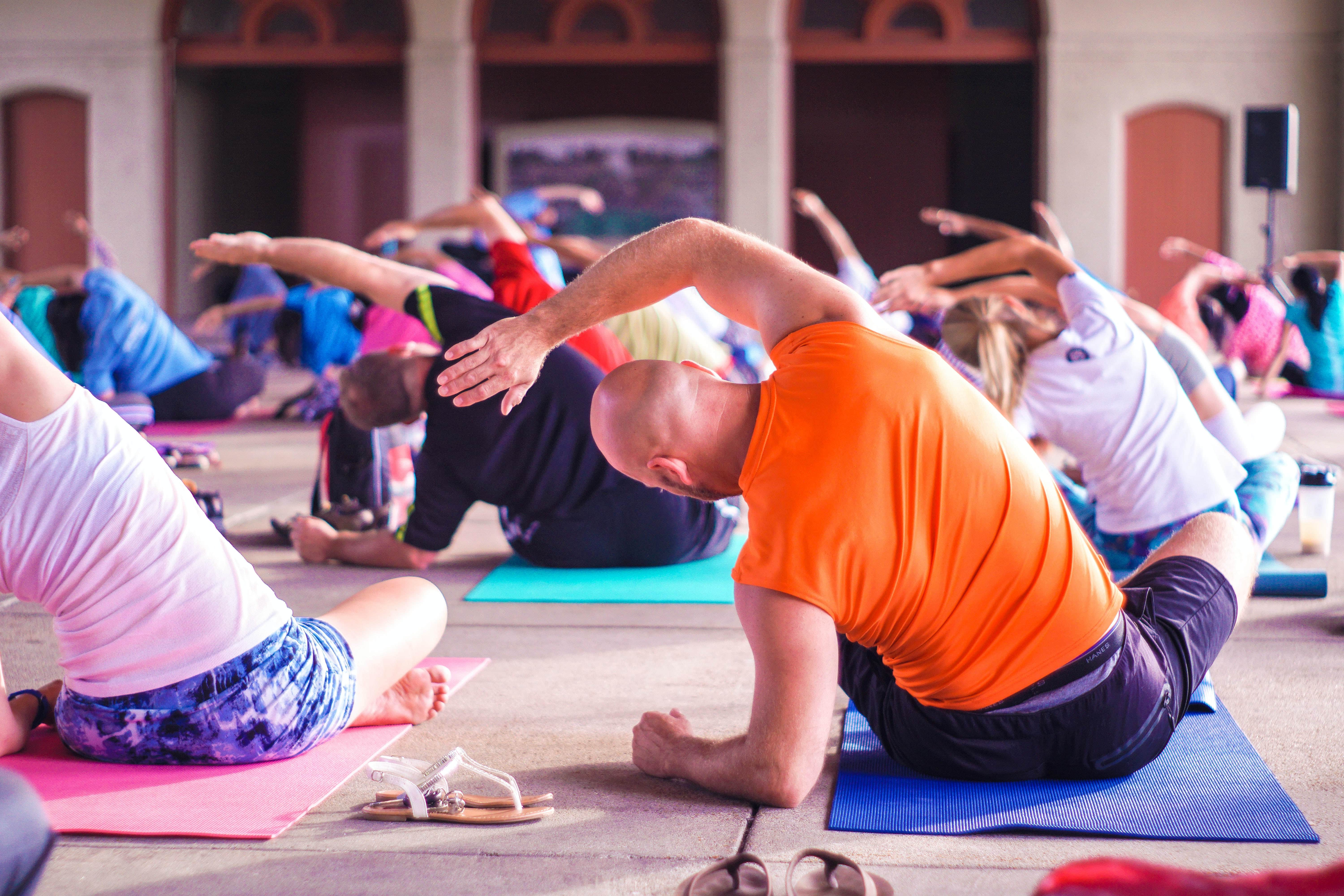 Well Being during quarantine WFH – Yoga by TechVians